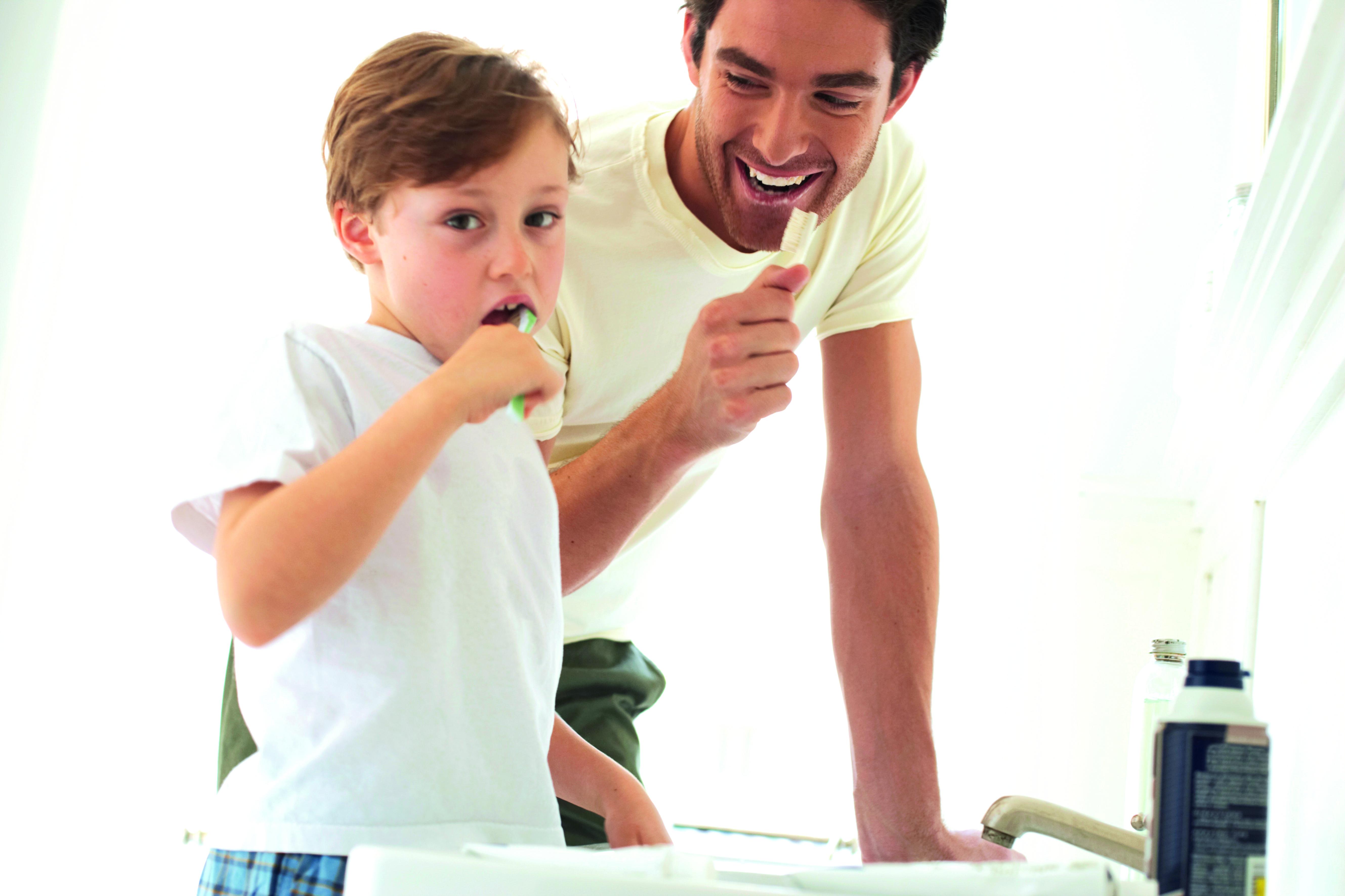 La higiene bucal en la infancia